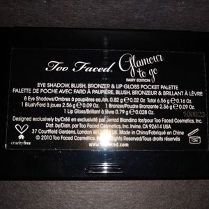 Too Faced Makeup - Rare New In Box Too Faced Glamour To Go
